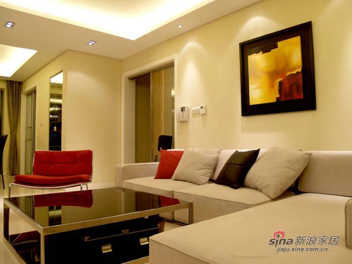 简约 三居 客厅图片来自用户2556216825在3万省钱装69平现代简约大气居62的分享
