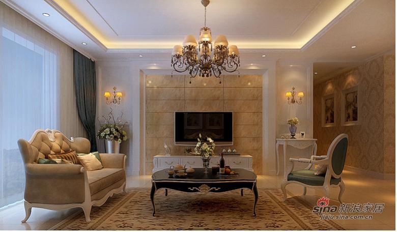 欧式 三居 客厅图片来自用户2746869241在暖系时尚白领的家设计 清淡雅素有情调84的分享