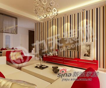 简约 二居 客厅图片来自阳光力天装饰在简约大方 稳重踏实的现代简约26的分享
