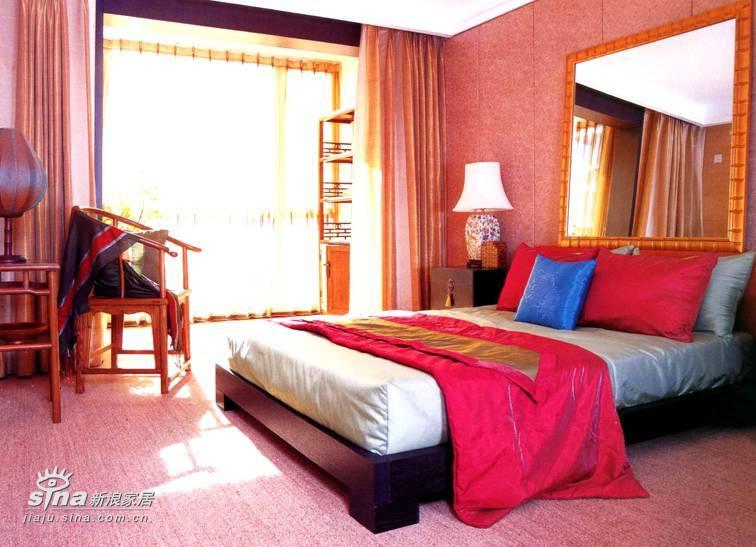 中式 四居 卧室图片来自用户2748509701在阳光上东67的分享