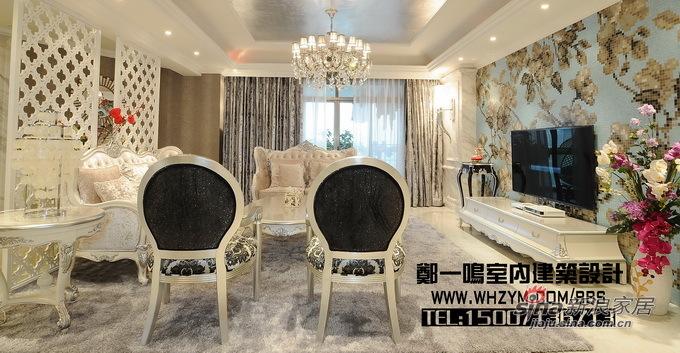 欧式 复式 客厅图片来自郑一鸣室内建筑设计工作室在300平明亮花样美居光与影的奏鸣48的分享