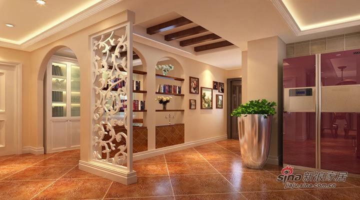 美式 二居 客厅图片来自用户1907685403在14万打造马甸118平米经典美式2居22的分享