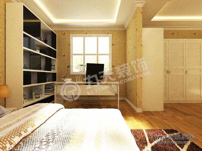 简约 别墅 卧室图片来自阳光力天装饰在宝安江南城别墅A户型478.88㎡现代简约44的分享