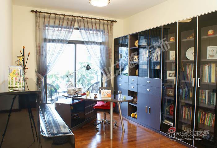 简约 四居 书房图片来自用户2737782783在5万打造温馨现代风格4居56的分享