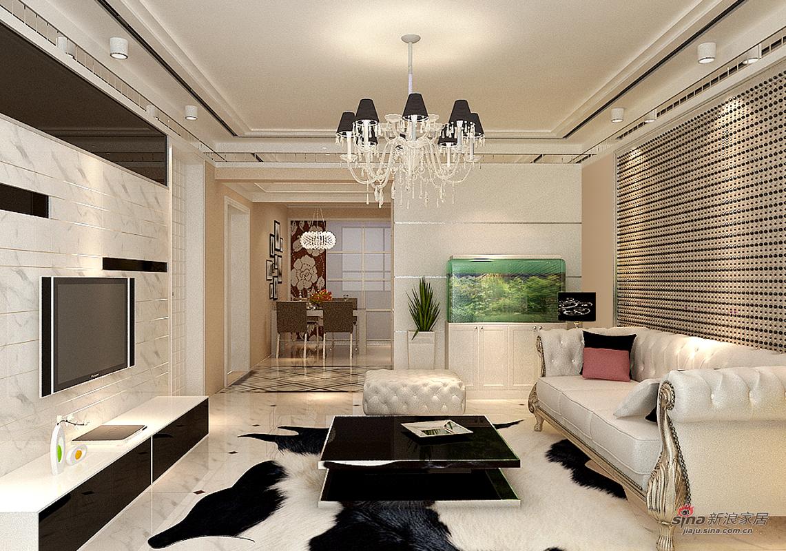其他 四居 客厅图片来自用户2558757937在【高清】后现代风格200平米展示64的分享