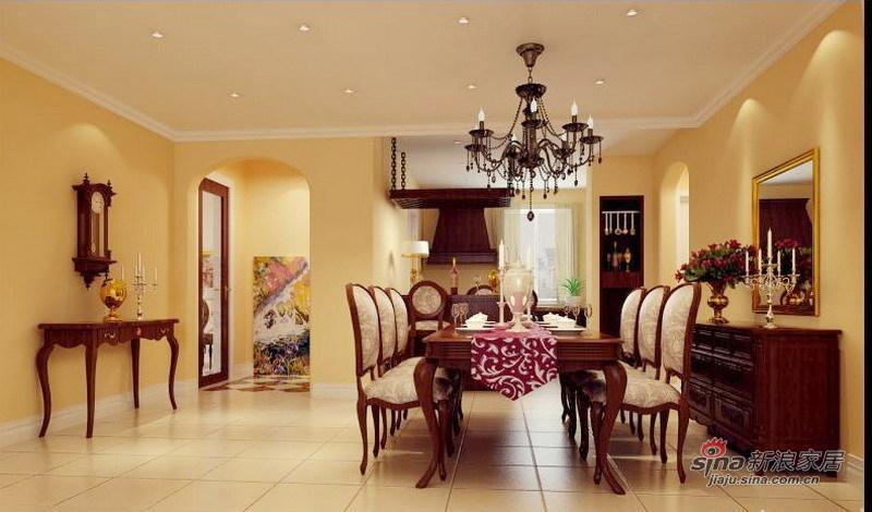 欧式 三居 客厅图片来自用户2746869241在160平既实用又美观温馨的欧式三居36的分享