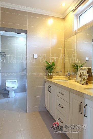 美式 别墅 卫生间图片来自用户1907686233在让阳光在家中飞舞450平大别墅87的分享