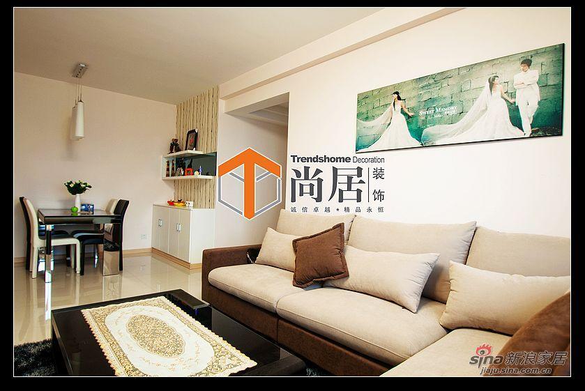 简约 三居 客厅图片来自用户2737782783在半杯拿铁的味道61的分享