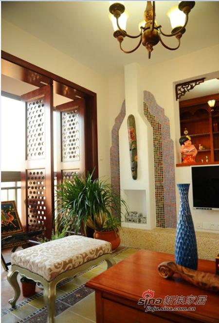 其他 二居 客厅图片来自用户2737948467在10万元100平东南亚风格两居(多图)43的分享