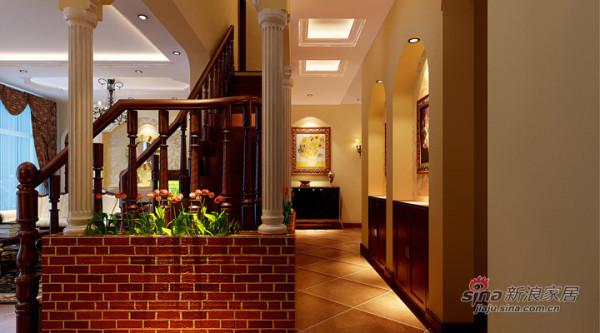 欧式风格案例-楼梯