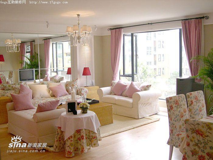 欧式 四居 客厅图片来自用户2772856065在英式风格田园家一83的分享