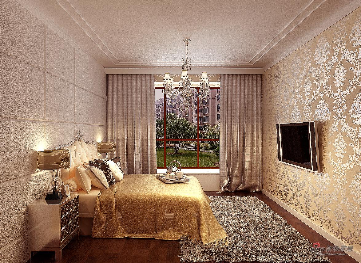 其他 四居 卧室图片来自用户2558757937在【高清】后现代风格200平米展示64的分享