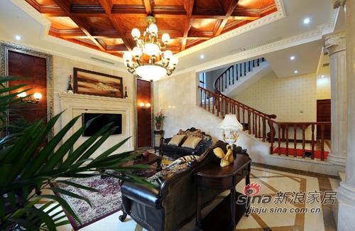 美式 复式 客厅图片来自用户1907686233在【多图】美式乡村风格34的分享