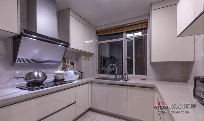 简约 三居 厨房图片来自用户2737735823在【高清】9万装110平素雅现代大气之家91的分享
