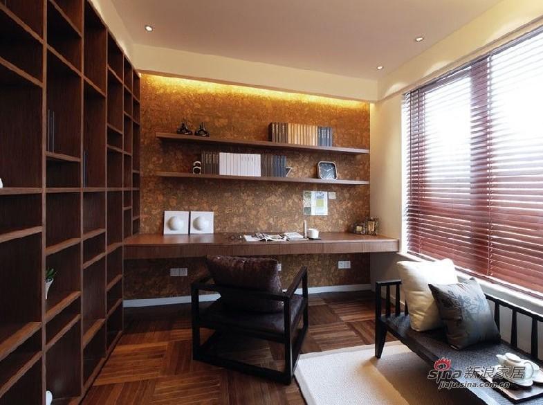 中式 复式 书房图片来自用户1907658205在苏州人士20万装160平方现代中式复式52的分享