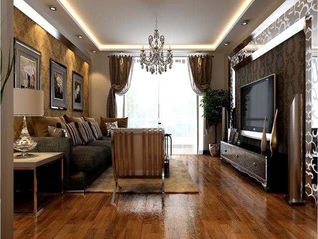 欧式 二居 客厅图片来自用户2757317061在保利罗兰香谷 北京新洲装饰10的分享