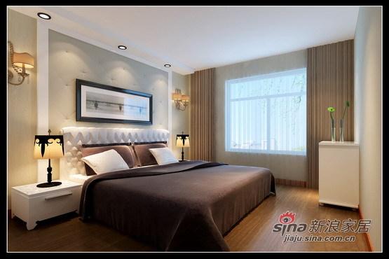 简约 三居 卧室图片来自用户2737786973在乐家装饰新榆公馆3居现代生活体现84的分享
