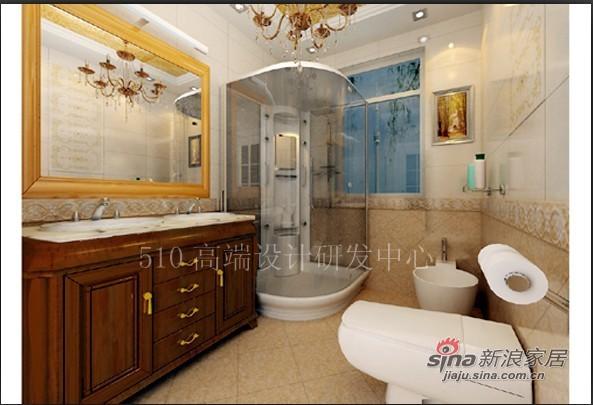欧式 三居 卫生间图片来自用户2746889121在高贵典雅的简欧72的分享