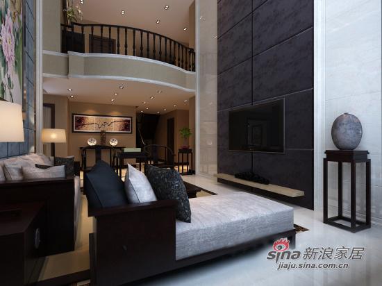 中式 四居 客厅图片来自用户1907658205在18万装新中式古典豪宅86的分享