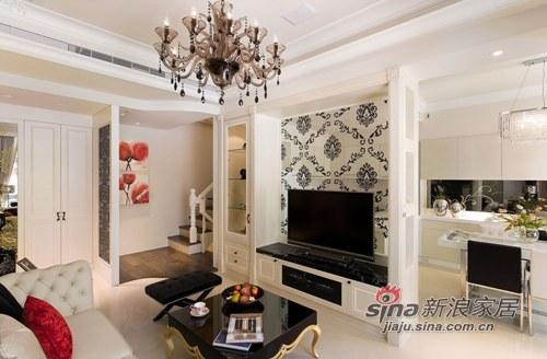 新古典 别墅 客厅图片来自用户1907664341在檀香山200平新古典主义优雅别墅设计84的分享