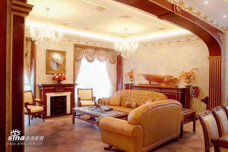 欧式 四居 客厅图片来自用户2746889121在新古典73的分享