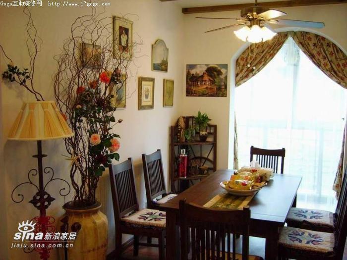 简约 四居 餐厅图片来自用户2738829145在美式与田园的结合37的分享