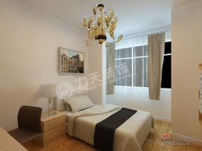 现代 二居 卧室 屌丝图片来自阳光力天装饰在永泰枕流GOLF公寓-H户型2室2厅1卫1厨-现代83的分享