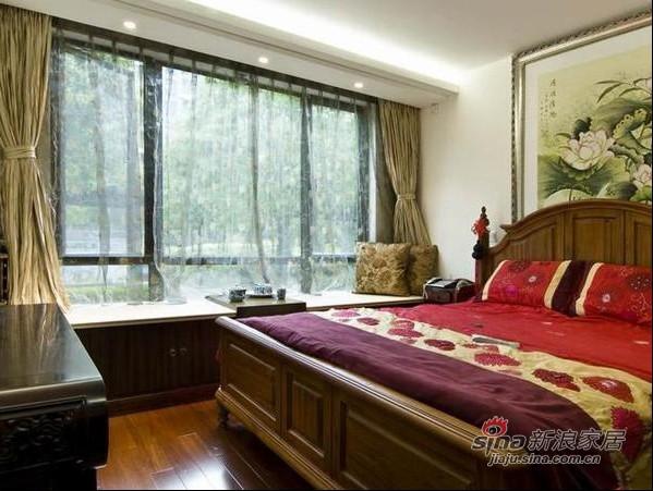 中式 三居 卧室图片来自用户1907659705在古典稳重大气的简中式风格75的分享