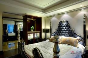 新古典 三居 卧室 公主房图片来自家装大管家在【高清】120平新古典奢华典雅3居室22的分享