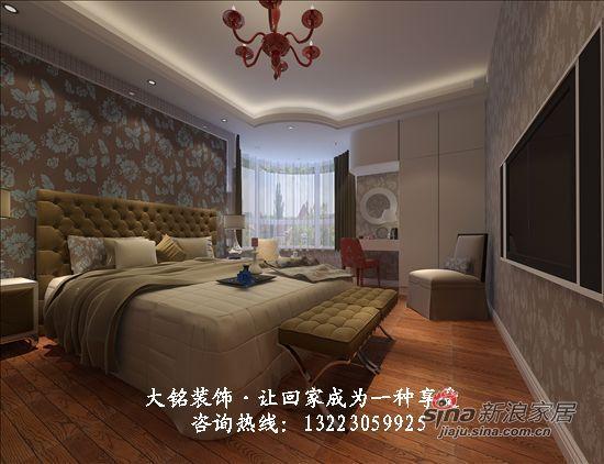 """简约 四居 卧室图片来自用户2738820801在""""未来与现代""""主题家庭装修设计39的分享"""