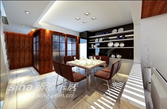 简约 别墅 餐厅图片来自用户2558728947在阳光闲庭24的分享