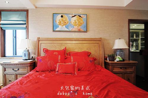 美式 跃层 卧室图片来自用户1907685403在网友晒260㎡美式乡村风情家39的分享