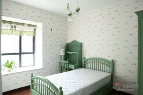 地中海 三居 儿童房 卧室 小清新图片来自用户2757320995在15万装129平地中海小家碧玉房53的分享
