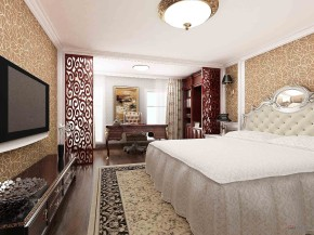 新古典 二居 卧室 公主房图片来自用户1907664341在72平米新古典风格美家57的分享
