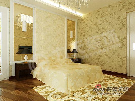 欧式 二居 卧室图片来自阳光力天装饰在品味在不经意中流露--犀地58的分享