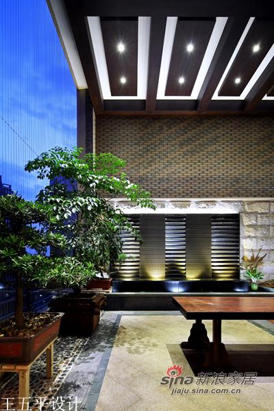 中式 三居 阳台图片来自用户1907659705在【多图】新中式的魅惑27的分享