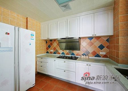 地中海 三居 厨房图片来自用户2757320995在潇洒哥的3居田园地中海混搭家37的分享
