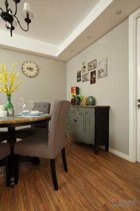 现代 二居 餐厅 文艺青年图片来自装修微日记在【高清】97平浪漫舒适现代时尚两居室82的分享