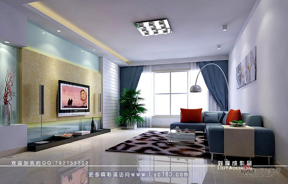 简约 三居 客厅图片来自用户2739153147在打造粉红29的分享