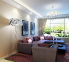南益名仕华庭99平米-两室两厅-现代简约70