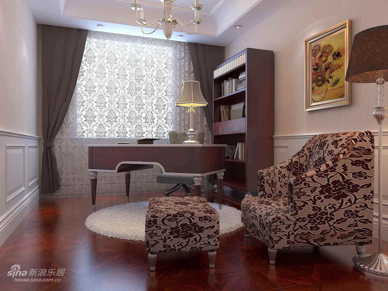 中式 三居 书房图片来自wulijuan_16在不要粉嫩拒绝奢华!大爱我的新古典婚房14的分享