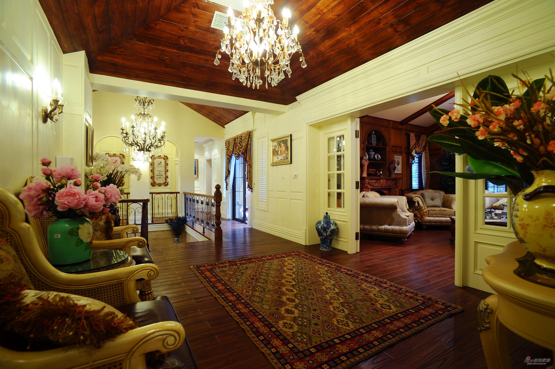 美式 别墅 客厅图片来自用户1907686233在500平米独栋美式风格43的分享