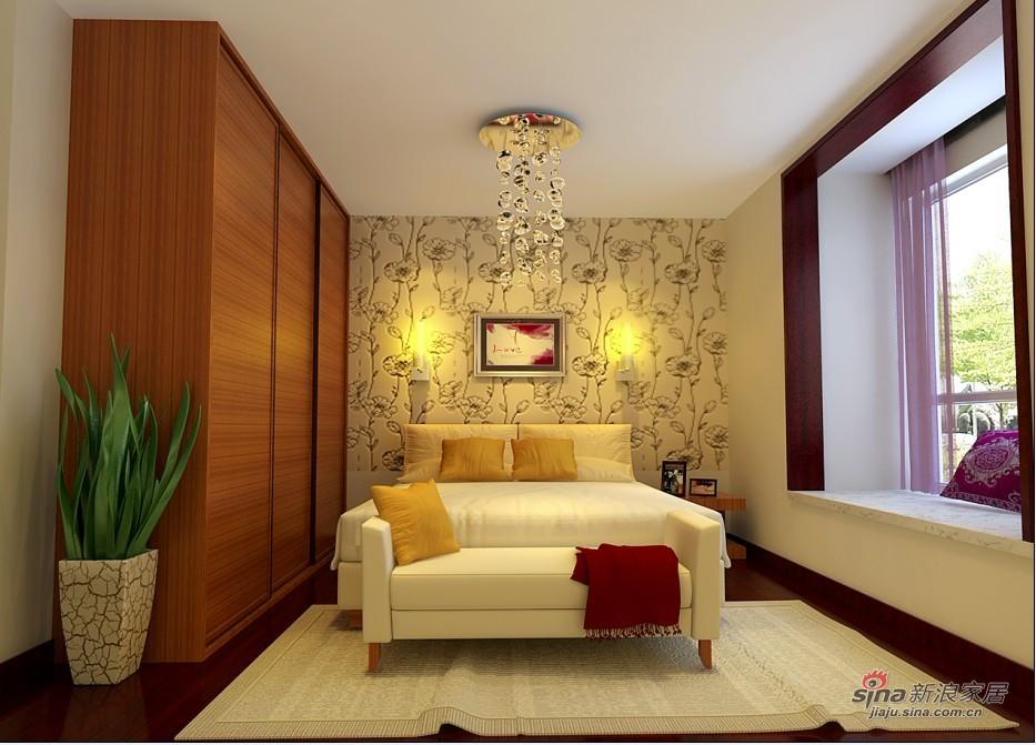 简约 二居 卧室图片来自用户2738829145在80平简约风格打造舒适生活仅需5.3万71的分享
