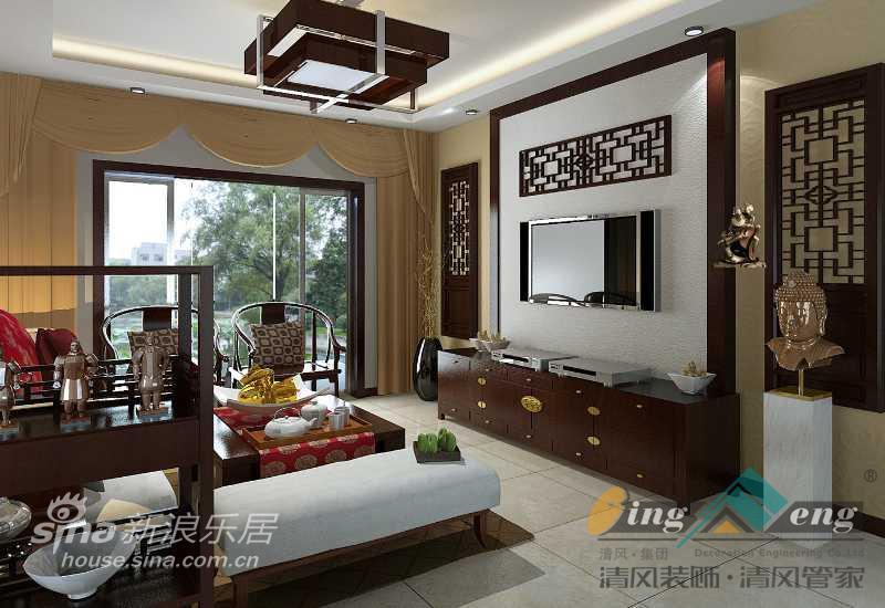 其他 别墅 客厅图片来自用户2558746857在苏州清风装饰设计师案例赏析2699的分享