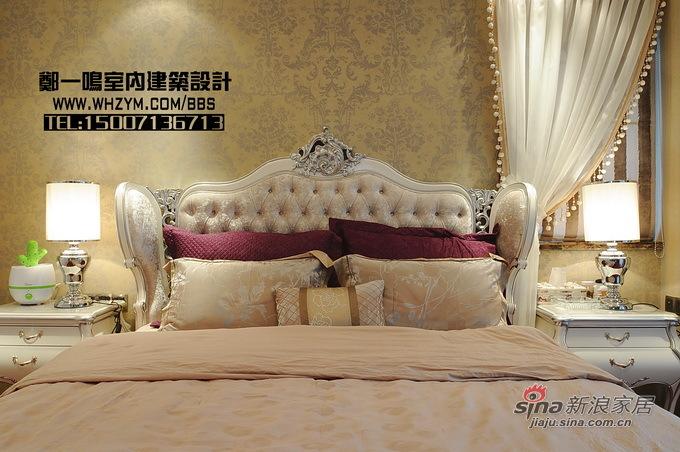欧式 复式 卧室图片来自郑一鸣室内建筑设计工作室在300平明亮花样美居光与影的奏鸣48的分享