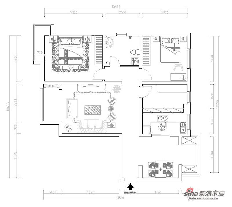 简约 三居 其他图片来自用户2737759857在嘉春园127㎡-三室两厅-现代简约设计案例35的分享