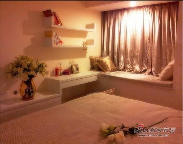 简约 三居 卧室图片来自用户2558728947在2年辛苦自装100多平环保宜居55的分享
