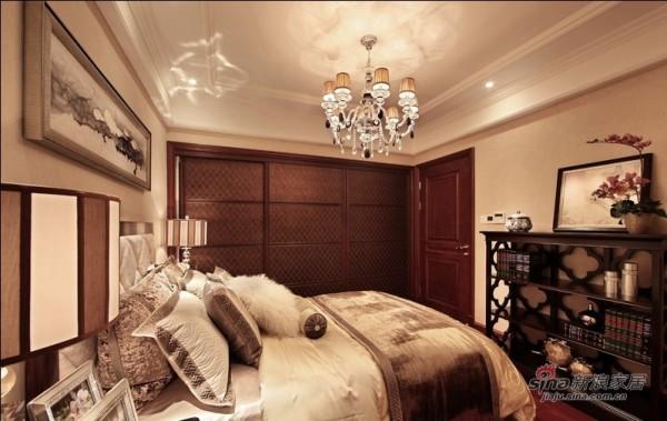 室内装修设计-林业厅单位房欧式六居室-卧