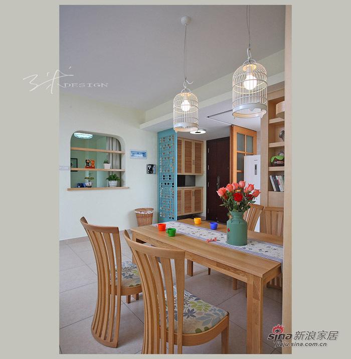 中式 三居 餐厅图片来自用户1907659705在153平现代中式清新大三居55的分享
