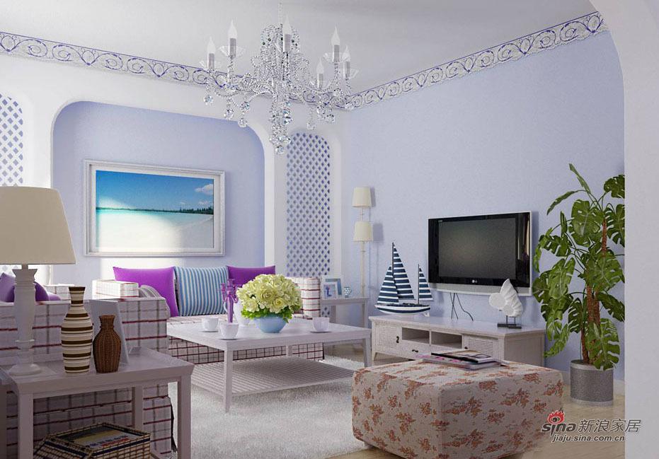 欧式 复式 客厅图片来自用户2746889121在阳光地中海64的分享
